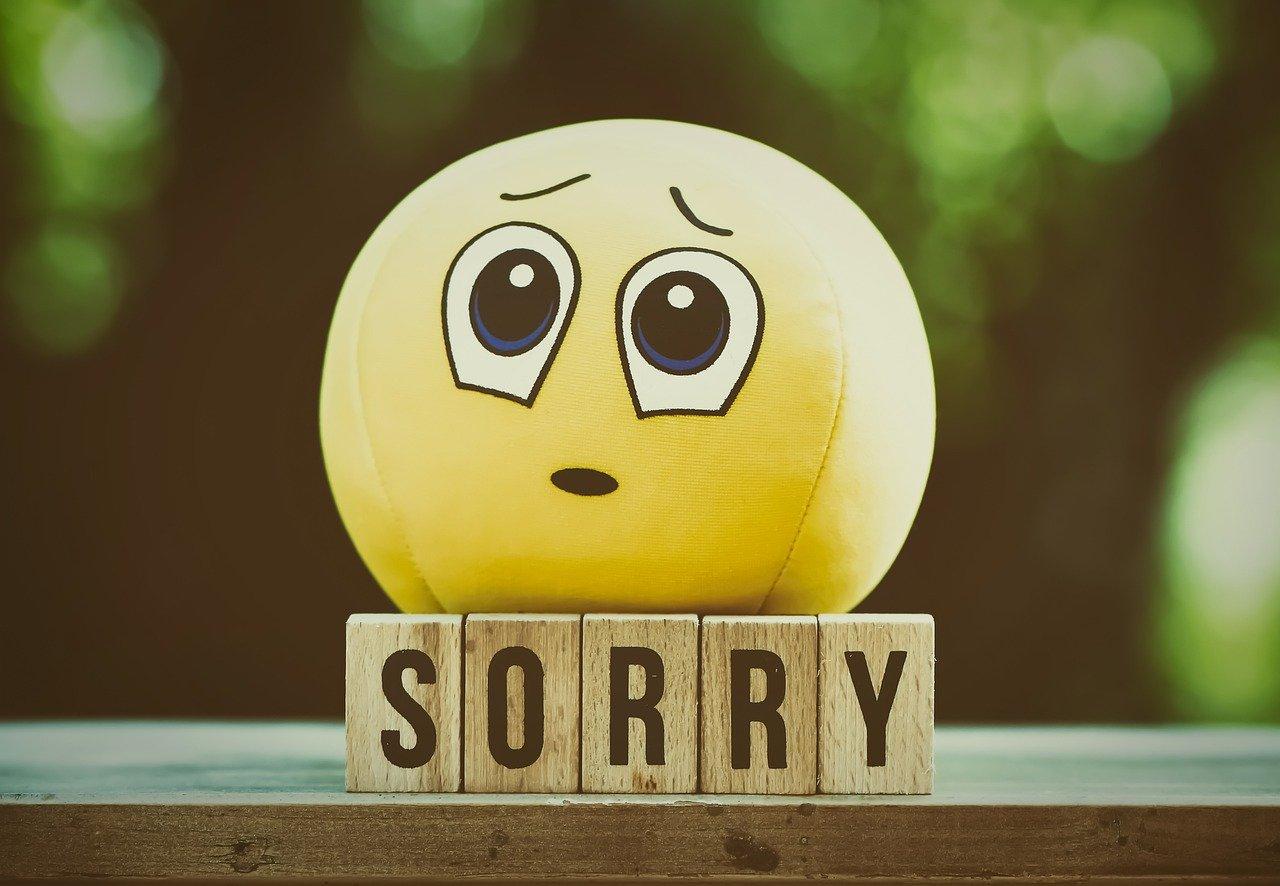 リーダーだからこそ、自分が間違った時にはきちんと謝ろう